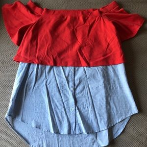 Anthropologie 9-H15 ST CL Top